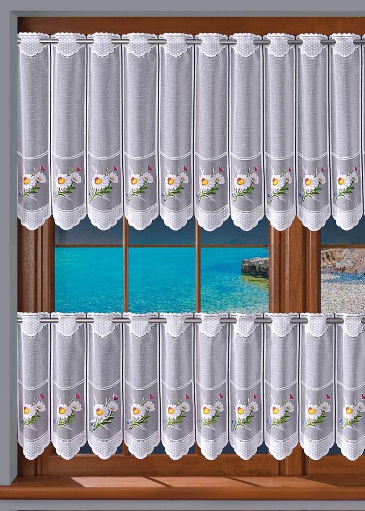 Vitrážková záclona