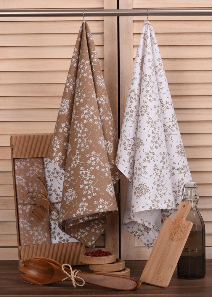 Bavlněné utěrky UT56 s motivem kopr - JIMI Textil