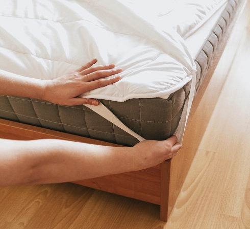 Ochrana matrace proti poškození a znečištění