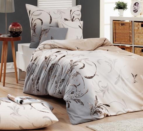 Kvalitní ložní soupravy ze 100% česané bavlny