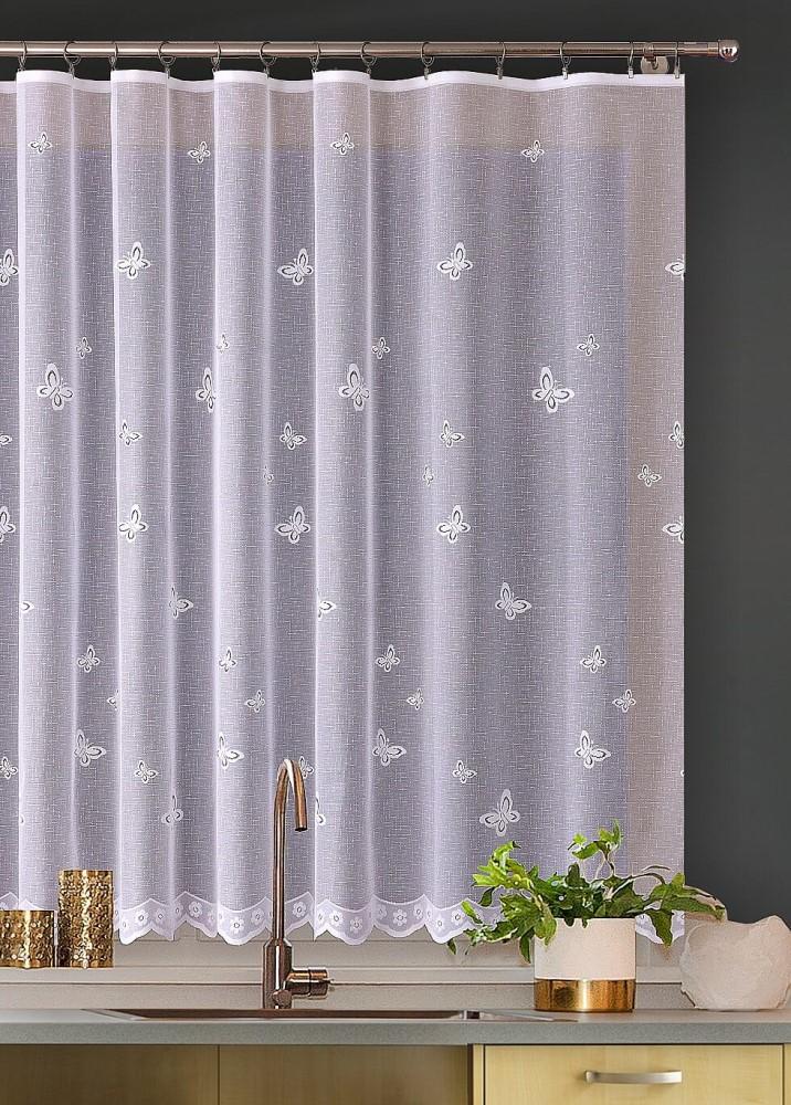 Metřážová záclona s motýly JIMI Textil