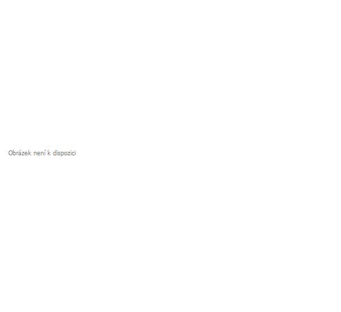 Metrážová žakarová záclona M100 - kytice